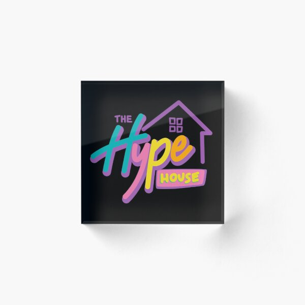 The Hype House Acrylic Block
