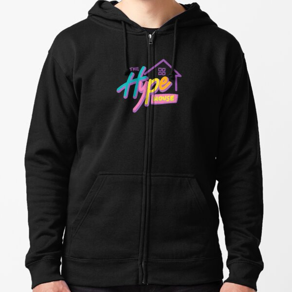 The Hype House Zipped Hoodie