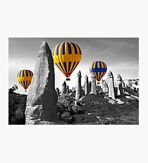 Hot Air Balloons Over Capadoccia Turkey - 8 Photographic Print