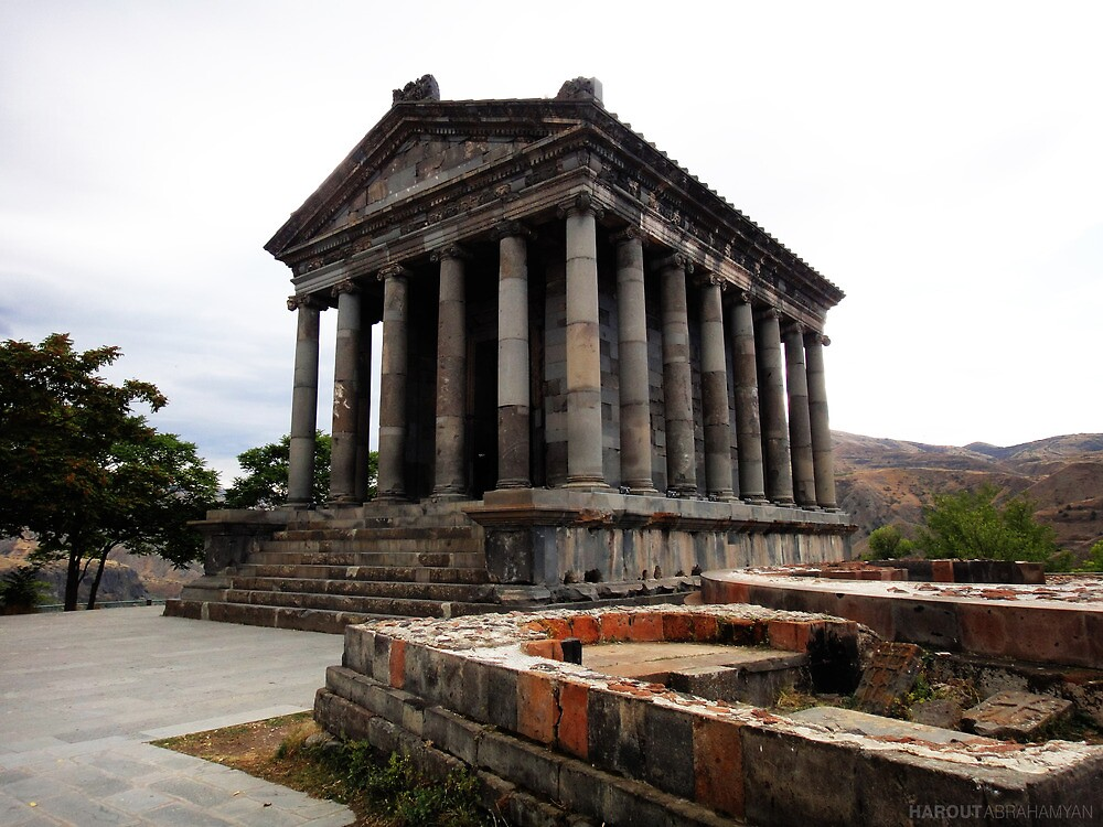 Garni Temple by Harout Abrahamyan