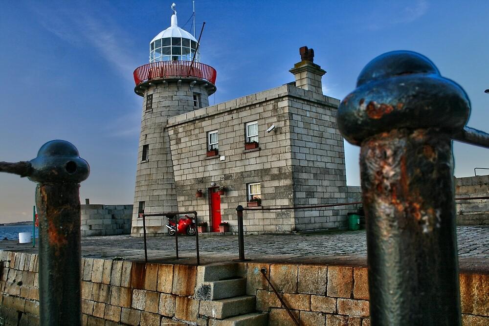 Howth Lighthouse, Dublin, Ireland  by John  Carey