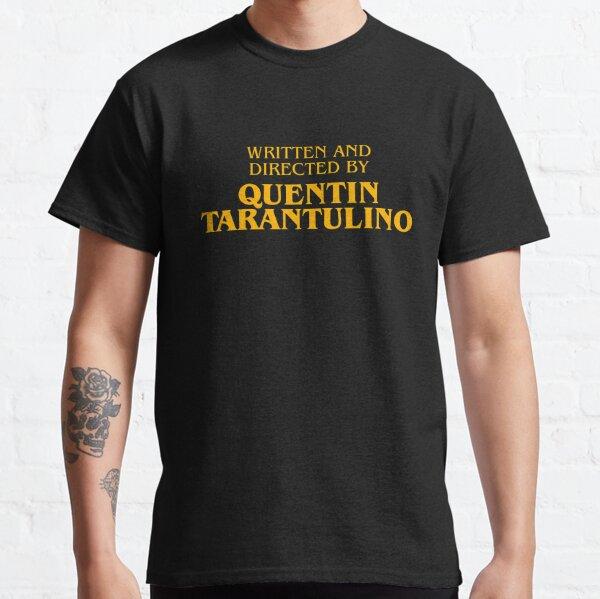 Escrito y dirigido por Quentin Tarantulino Camiseta clásica