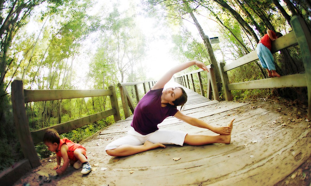 """""""Yoga in the nature with kids"""" by Wari Om Yoga Photography ..."""