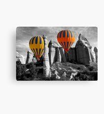 Hot Air Balloons Over Capadoccia Turkey - 12 Canvas Print