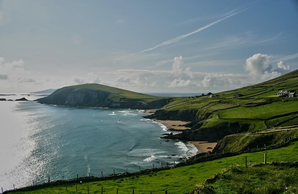 Dingle Coast Seascape, Dingle, Co Kerry by John  Carey