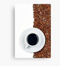 Coffee Flag Canvas Print