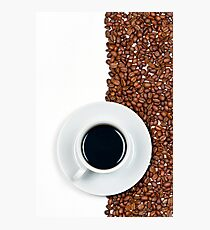 Coffee Flag Photographic Print