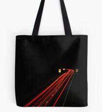 Motorway Long Exposure  Tote Bag