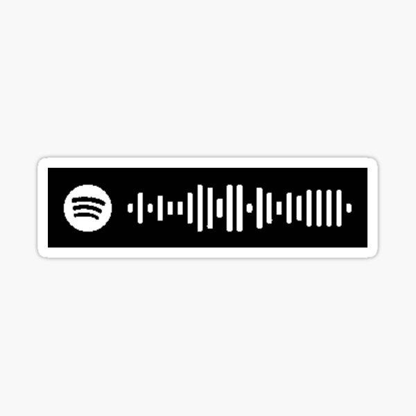 Tiny Meat Gang Spotify Scan Sticker