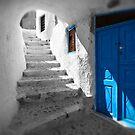 'Blue Domes' - Greek Orthodox Churches of the Greek Cyclades Islands - 11 by Paul Williams