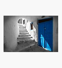 'Blue Domes' - Greek Orthodox Churches of the Greek Cyclades Islands - 11 Photographic Print