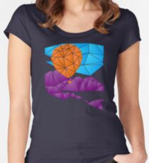 Balloon over the Rockies Women's Fitted Scoop T-Shirt