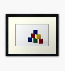 Elementary Colors Framed Print