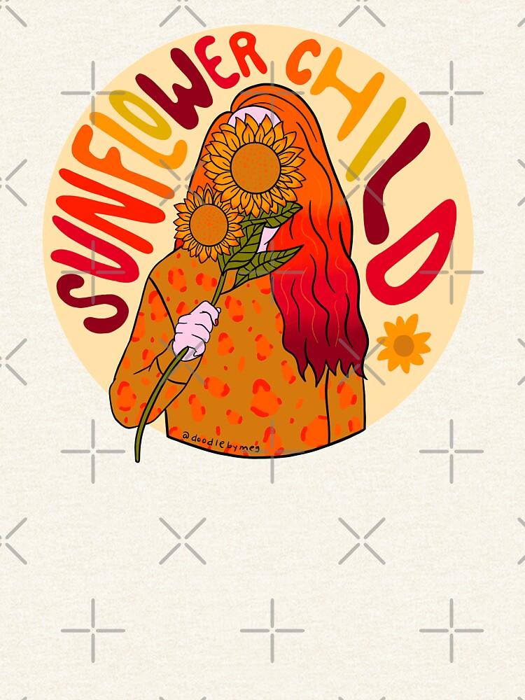 Sunflower Child by doodlebymeg