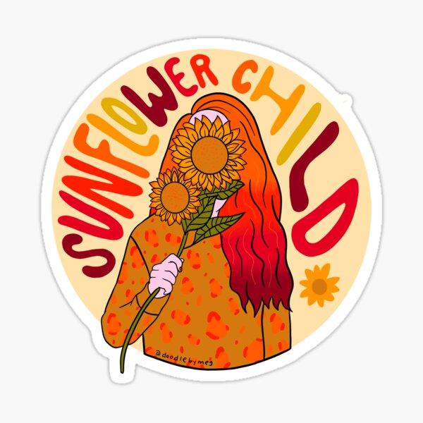 Sunflower Child Sticker