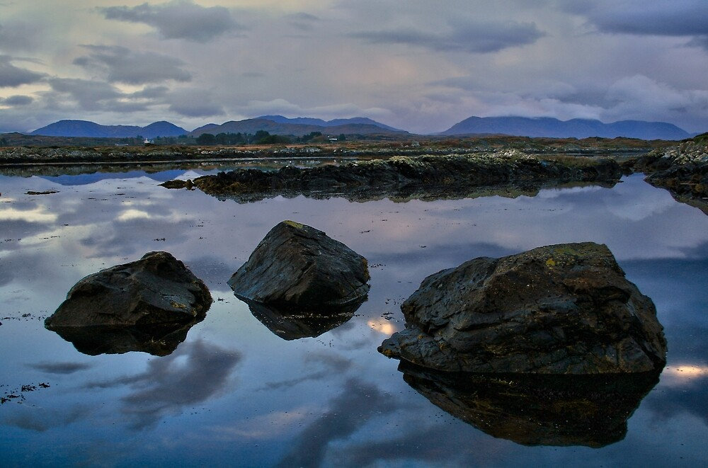 Connemara Landscape by John  Carey