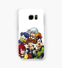 Kingdom Hearts - Sora, Riku, Kairi, Goofy & Donald Samsung Galaxy Case/Skin