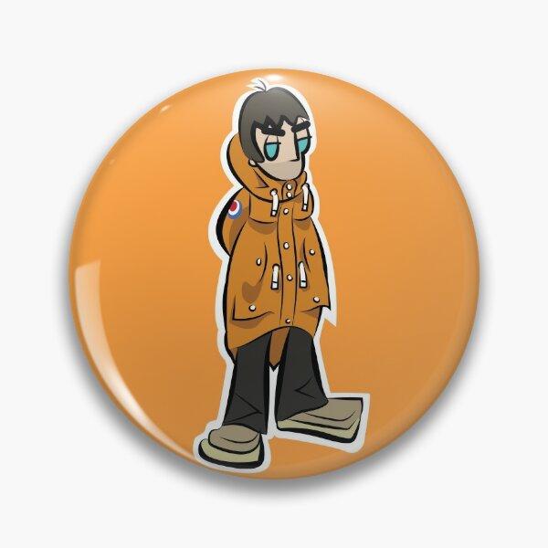 LG - Parka Monkees - Cartoon LGv1 (Love Forever - Orange Parka)  Pin