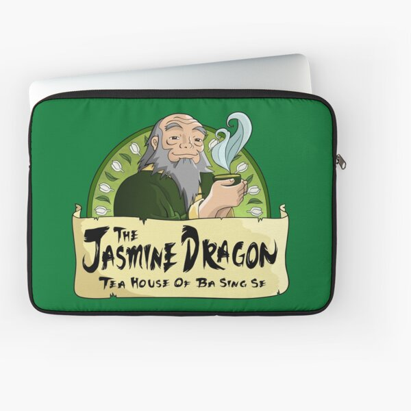 The Jasmine Dragon Tea House Laptop Sleeve