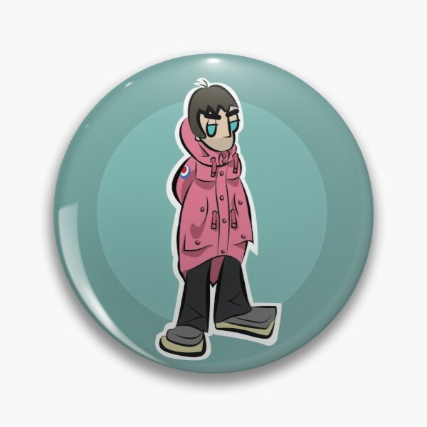 LG - Parka Monkees - Cartoon LGv1 (Pink Parka - Big Issue) Pin
