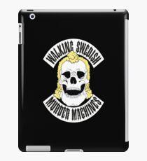 Walking Swedish Murder Machine MC iPad Case/Skin