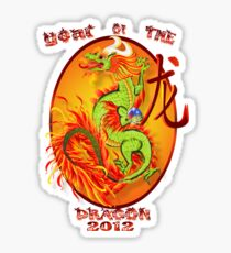 Year Of The Dragon-2012 Sticker