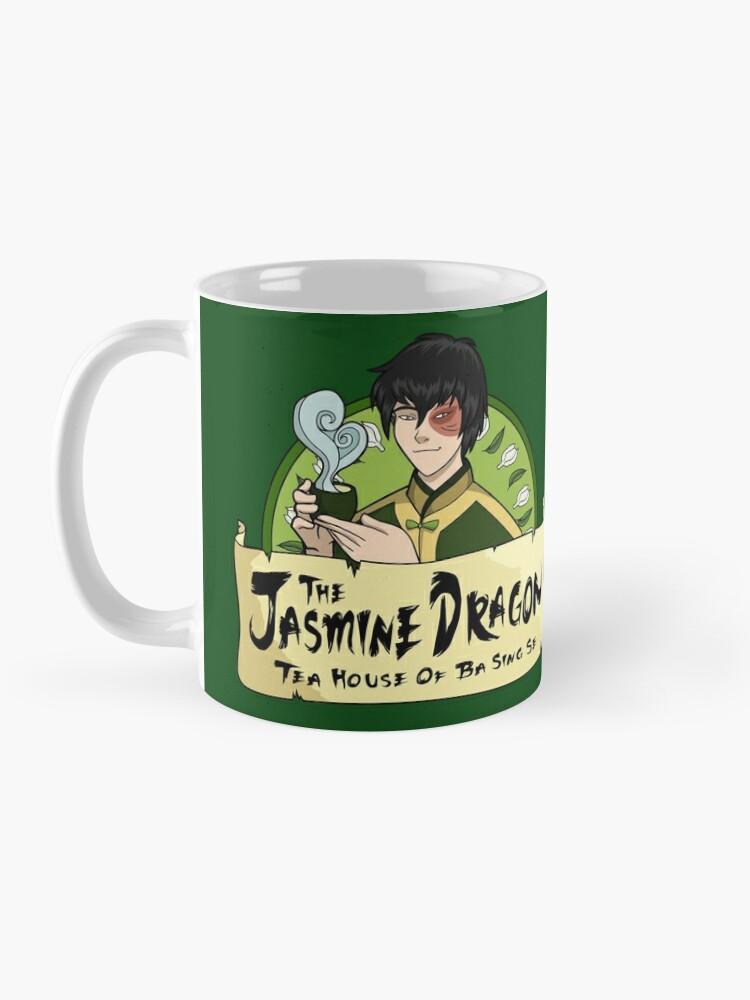 Alternate view of The Jasmine Dragon Tea House - With Prince Zuko Mug