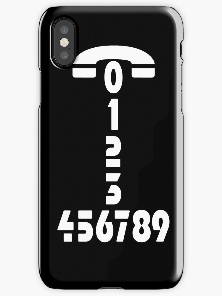 Call me - Phone number - case by Nhan Ngo
