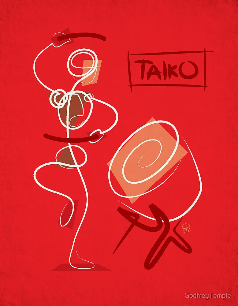 Modern Taiko by GodfreyTemple