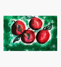 Fruit, but what? watercolor Photographic Print