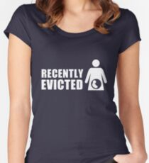 Recently Evicted [ Tshirt | iPad / iPhone Case & Print ] Women's Fitted Scoop T-Shirt