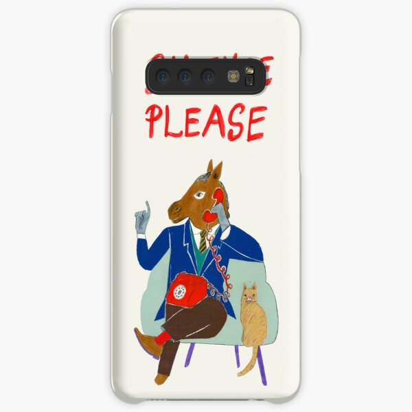 Silence Please Samsung Galaxy Snap Case