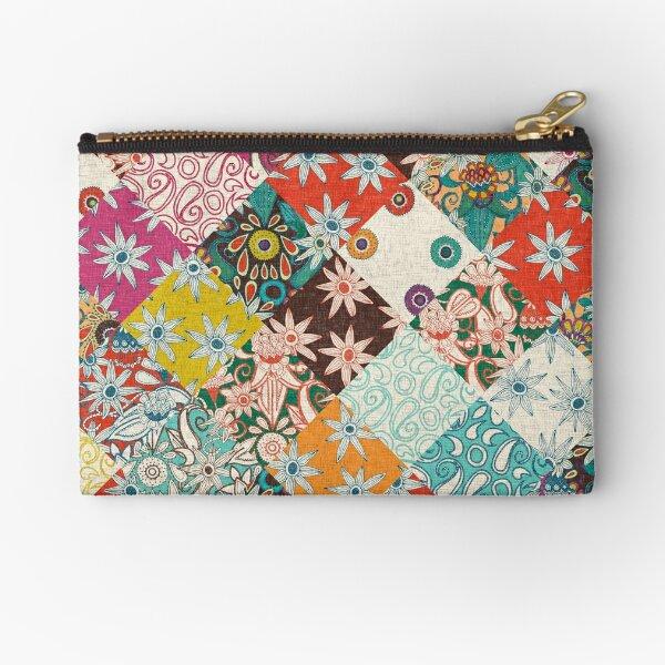 sarilmak patchwork Zipper Pouch