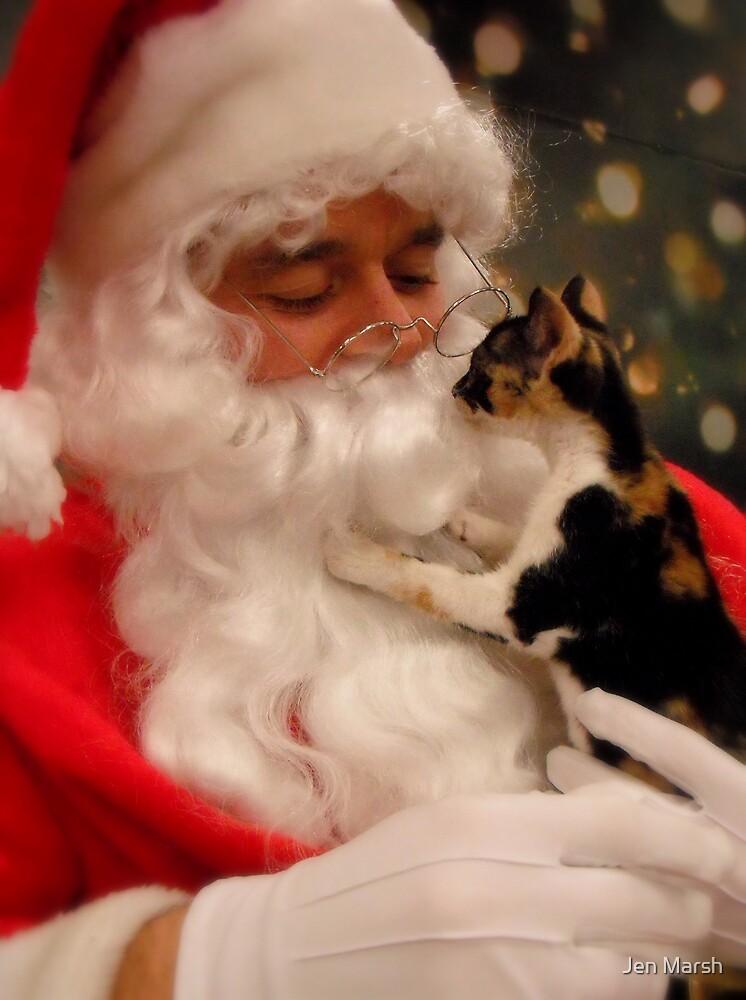 Santa has a soft spot... by Jen Marsh