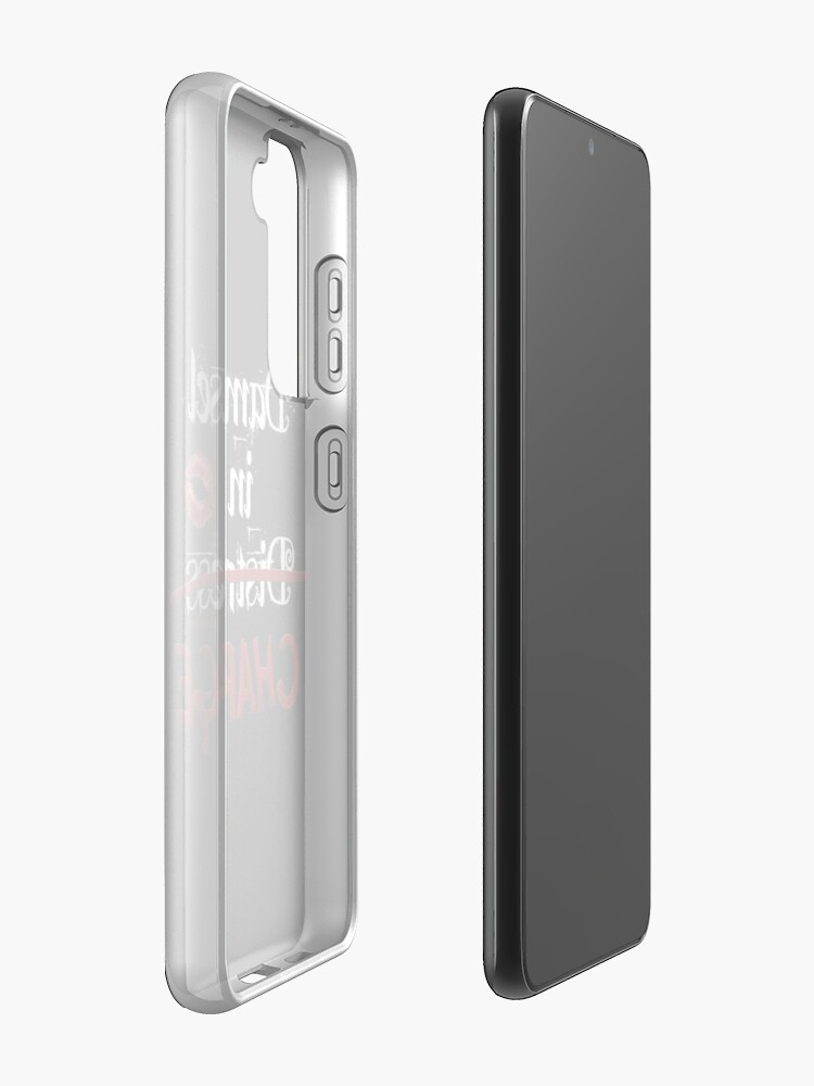 Alternate view of Damsel in Charge Case & Skin for Samsung Galaxy
