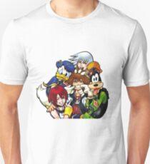 Kingdom Hearts - Sora, Riku, Kairi, Goofy & Donald Unisex T-Shirt