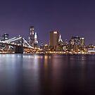 Manhattan At Night Panorama 1 by BlackRussian