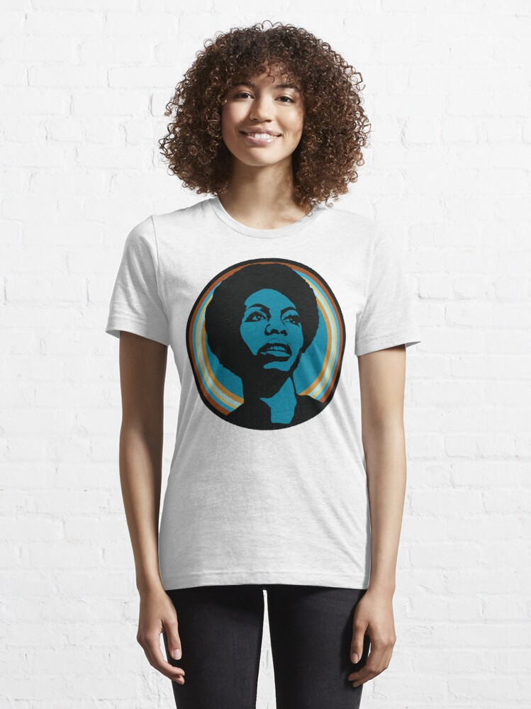 Alternate view of nina simone Essential T-Shirt
