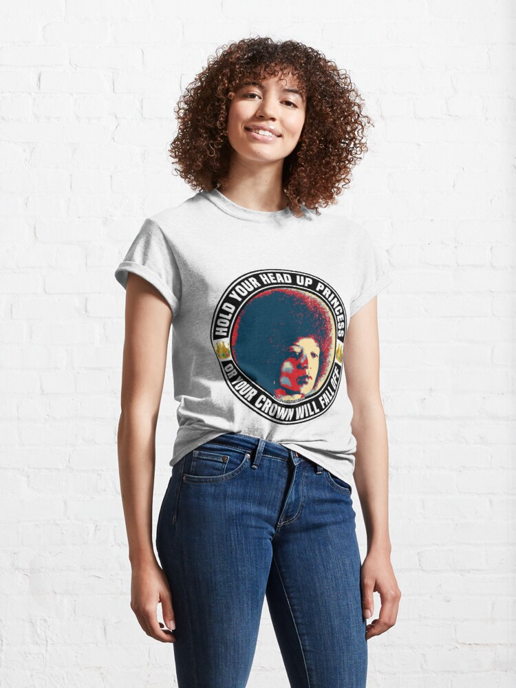 Alternate view of Hold Your Head Up Princess Classic T-Shirt