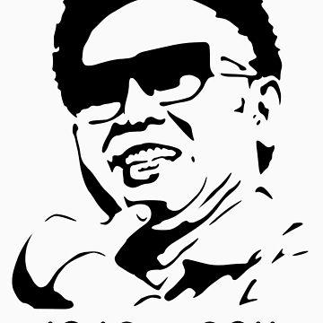 Kim Jong-il Dead Shirt by kimjongil