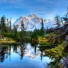 Serenity at Mount Shuksan by Dale Lockwood