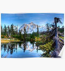 Serenity at Mount Shuksan Poster