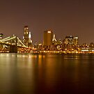 Manhattan at Night Panorama 5 by BlackRussian