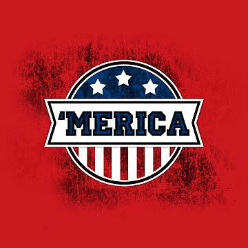 'MERICA T-Shirt. America. Jesus. Freedom. - The Campaign by robbclarke