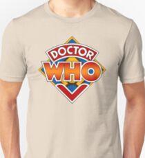 Classic Doctor Who Diamond Logo. Unisex T-Shirt