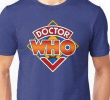 Classic Doctor Who Diamond Logo. Unisex T-Shirt