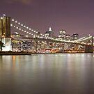 Brooklyn Bridge at Night 1 by BlackRussian