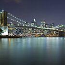 Brooklyn Bridge at Night 7 by BlackRussian