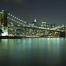 Brooklyn Bridge at Night 8 by BlackRussian