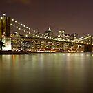 Brooklyn Bridge at Night 10 by BlackRussian
